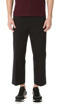Marni Washed Cotton Gabardine Pants