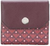Bally geometric pattern purse