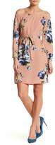 Blvd Floral Off-The-Shoulder Dress