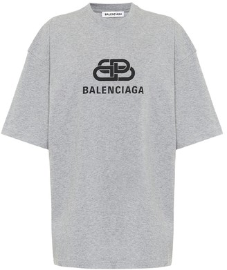 Balenciaga Logo cotton T-shirt