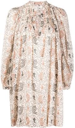 Etoile Isabel Marant Paisley Print Tunic Dress