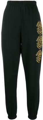Marc Jacobs relaxed-fit logo-print track trousers