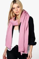 Boohoo Ella Supersoft Oversize Blanket Scarf