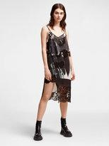 DKNY Shattered Rose Slip Dress