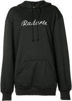 Rodarte logo hoodie - women - Cotton/Polyester - M