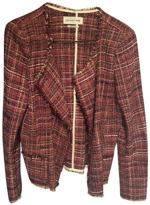 Etoile Isabel Marant Burgundy Tweed Jackets