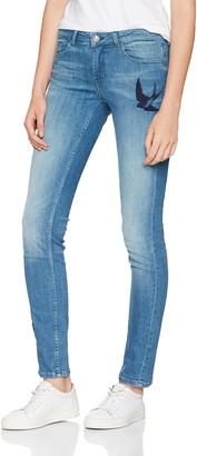 HUGO BOSS Women's Orange J20 Rienne 10200641 01 Straight Jeans