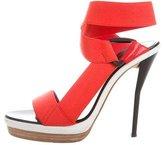 3.1 Phillip Lim Canvas Platform Sandals
