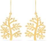 Pippa Small 18-karat Gold Diamond Earrings