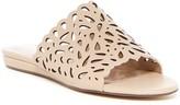 Charles by Charles David Model Perforated Wedge Slide Sandal