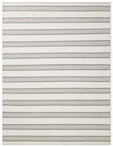 Williams-Sonoma Perennials Awning Stripe Indoor/Outdoor Rug, Navy