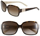 Kate Spade 'lulu' 55mm Rectangular Sunglasses