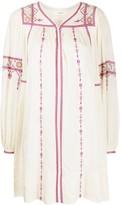 Etoile Isabel Marant embroidered dress