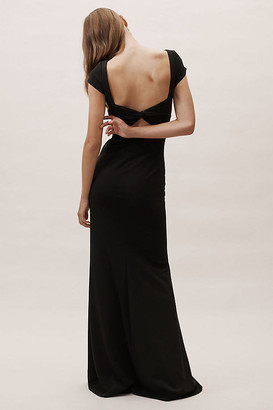 BHLDN Madison Dress By in Black Size 22
