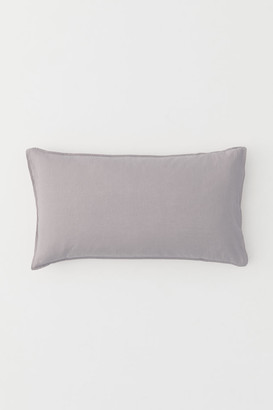 H&M Washed Linen Pillowcase - Brown