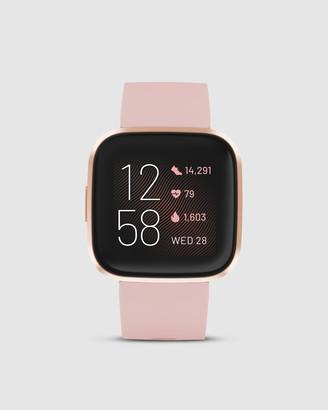 Fitbit Versa 2 Watch Petal Copper Rose