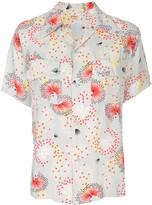 Fake Alpha Vintage 1950s floral short-sleeved shirt