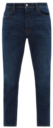 Acne Studios River Tapered-leg Jeans - Mens - Navy