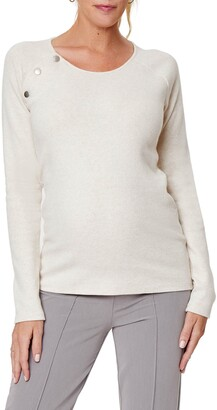 Stowaway Collection Maternity/Nursing Sweater