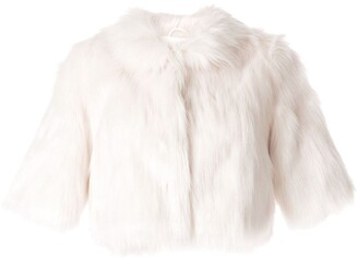 Unreal Fur Faux-Fur Shawl