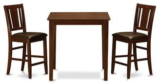Charlton Home Stickney 3 Piece Counter Height Pub Table Set Charlton Home