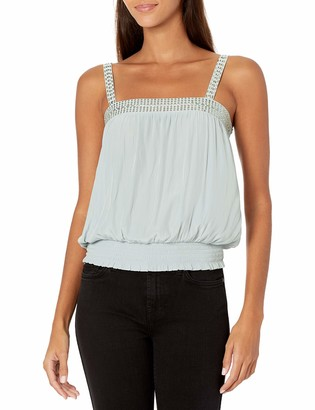 Ramy Brook Women's Kristina Sleeveless Top with Embellishment