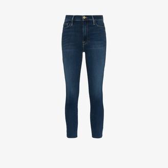 Frame Ali high waist cigarette jeans