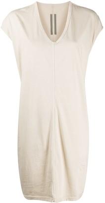 Rick Owens Cap Sleeve Jersey Dress