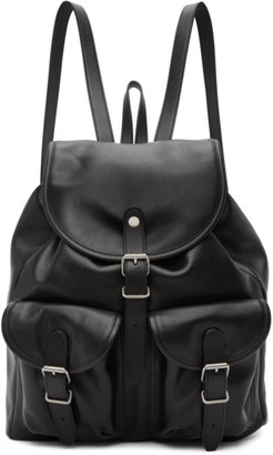 Saint Laurent Black Venice Backpack