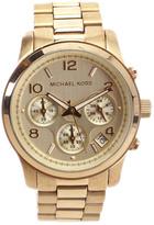 Michael Kors Medium Goldtone Chronograph Watch