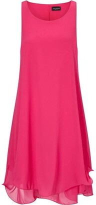 James Lakeland Sleeveless Wave Hem Dress