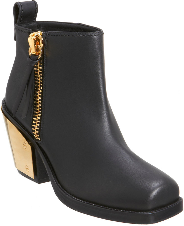 Giuseppe Zanotti Plated Heel Ankle Boot
