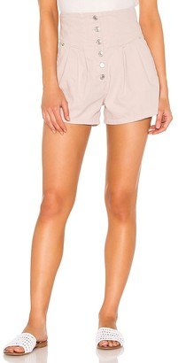 Free People Paris Pleated Short