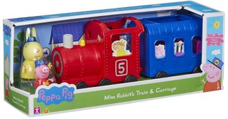 Peppa Pig Miss Rabbit's Train and Carriage
