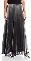Rebecca Taylor Women's Lurex Pleat Maxi Skirt
