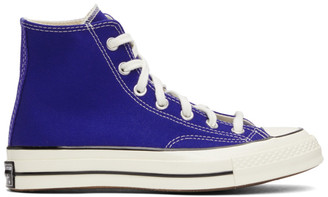 Converse Blue Seasonal Color Chuck 70 High Sneakers