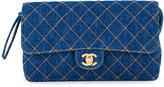 Chanel Vintage sac à dos matelassé