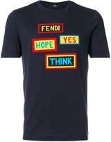 Fendi printed T-shirt