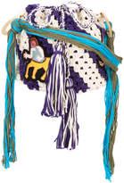 Peter Pilotto Pilotto x Francis Upritchard Embroidered Centaur bag