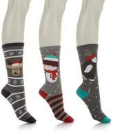 Curations Caravan Holiday Crew 3-pack Socks