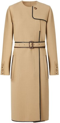 Burberry Technical Style Belted Dress