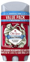 Old Spice Wild Collection Invisible Solid Antiperspirant and Deodorant, Wolfthorn, 2 Count