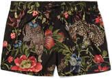 Dolce & Gabbana Slim-Fit Short-Length Printed Shell Swim Shorts