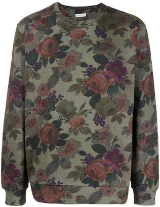Etro floral relaxed-fit jumper