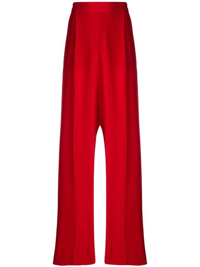 Stella McCartney high-waisted wide-leg trousers