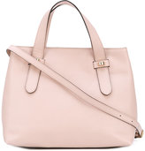 Borbonese double handles tote - women - Leather/Polyester - One Size