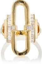 Deborah Pagani Women's Open Pill Ring-GOLD