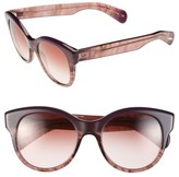 Oliver Peoples Women's 'Jacey' 53Mm Sunglasses - Faded Fig/ Sonoma Gradient