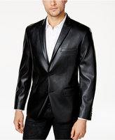 INC International Concepts Anna Sui x Men's Slim-Fit Studded Faux Leather Blazer, Created for Macy's