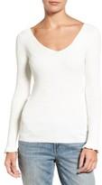 Women's Chelsea28 Ribbed V-Neck Sweater